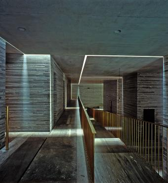 Termiske bade af Peter Zumthor, Schweiz